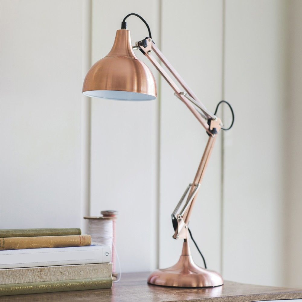 Hettie Table Lamp in Copper