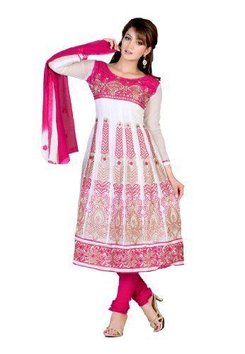Fabdeal Women's Indian Designer Wear Embroidered Salwar Pink & violet Fabdeal, http://www.amazon.de/dp/B00GD6AUUK/ref=cm_sw_r_pi_dp_W69otb0AJJYG1