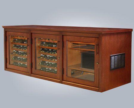 La Cache Wine Credenza : Wine credenza custom built for a client in boston ma things i