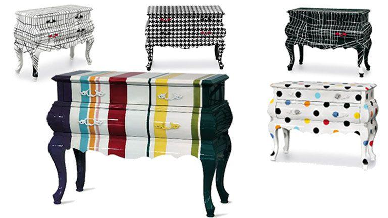 Wary Une Commode Design Haut De Gamme Toute En Couleurs Pour Plus De Fantaisie Une Creativite Italienne Pour C Commode Design Mobilier Design Meuble Design