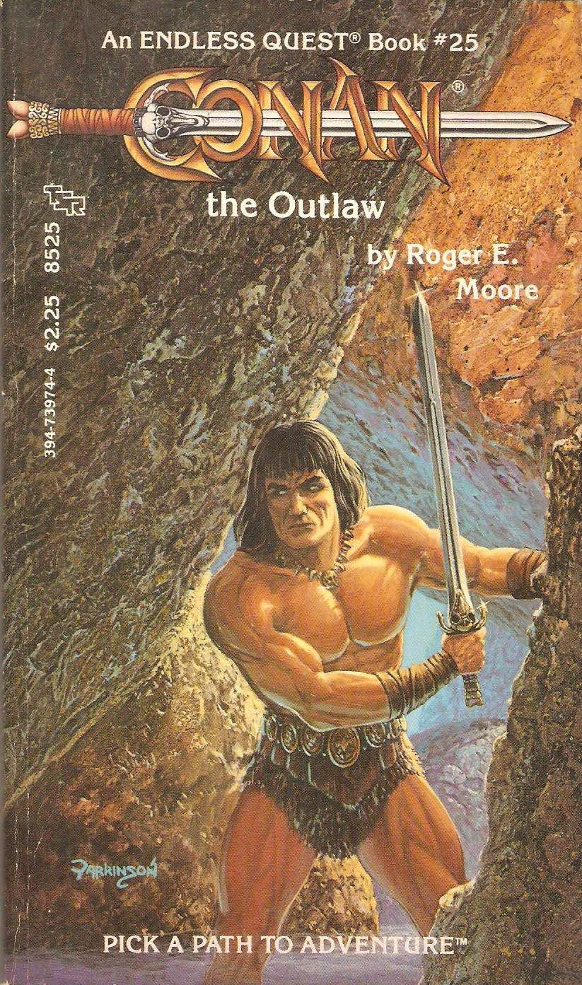 Conan The Outlaw  by Roger E  Moore  An