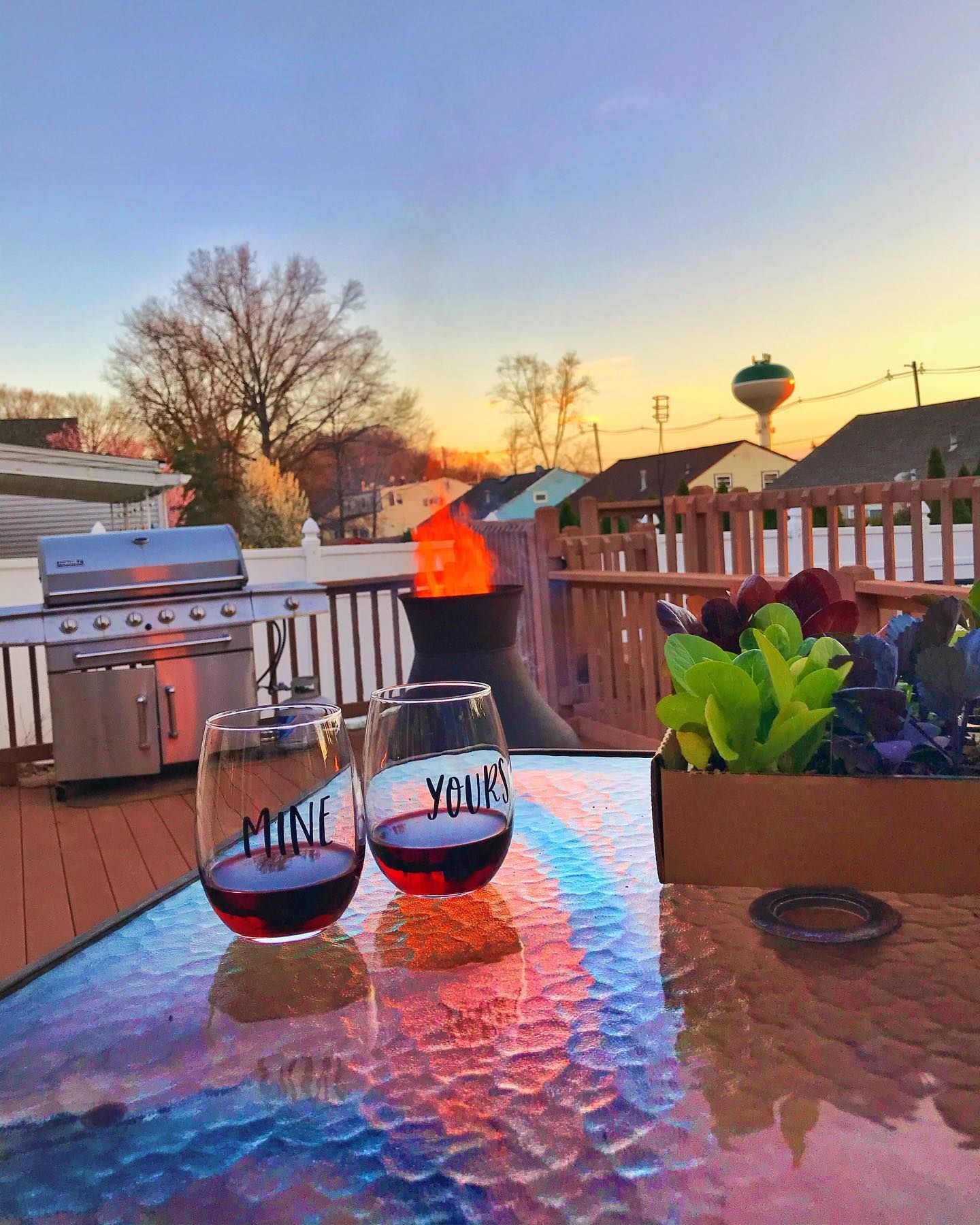 Cheers To Another Awesome Weekend In Isolation Swipe For The Before Edit This Is The First Time Using The Chiminea In 2020 Fashion Instagram Accounts Chiminea Yard
