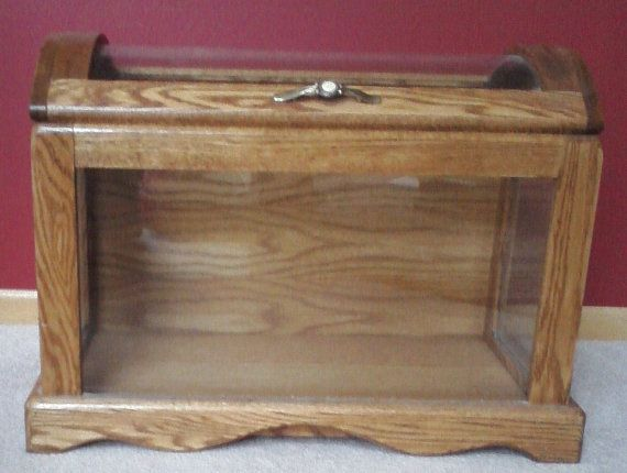 Oak And Glass Quilt Storage Amp Display Chest Reserved For