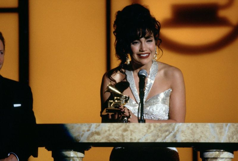 Image result for selena movie grammy win