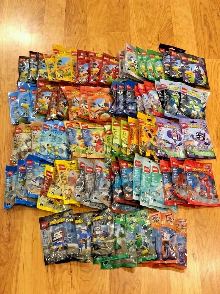 Lego Mixels - All 81 Sets - Series 1 to 9 Complete! Rare