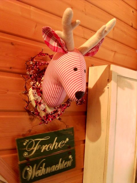 Elch nach Anleitung aus Tilda Buch | Weihnachten | Pinterest