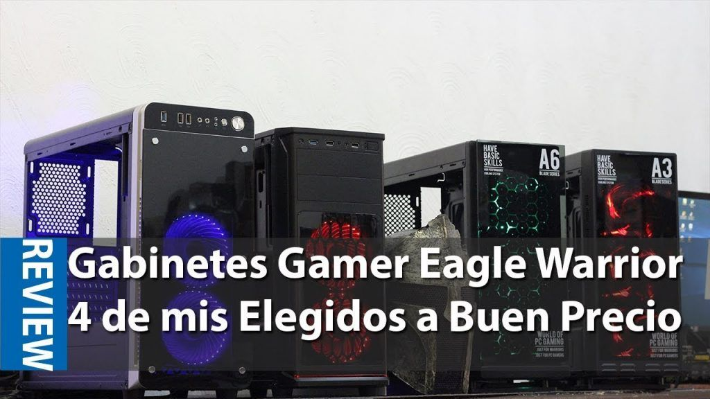 Gabinetes Eagle Warrior: Dale Estilo Gamer a tu PC #Hardware ...