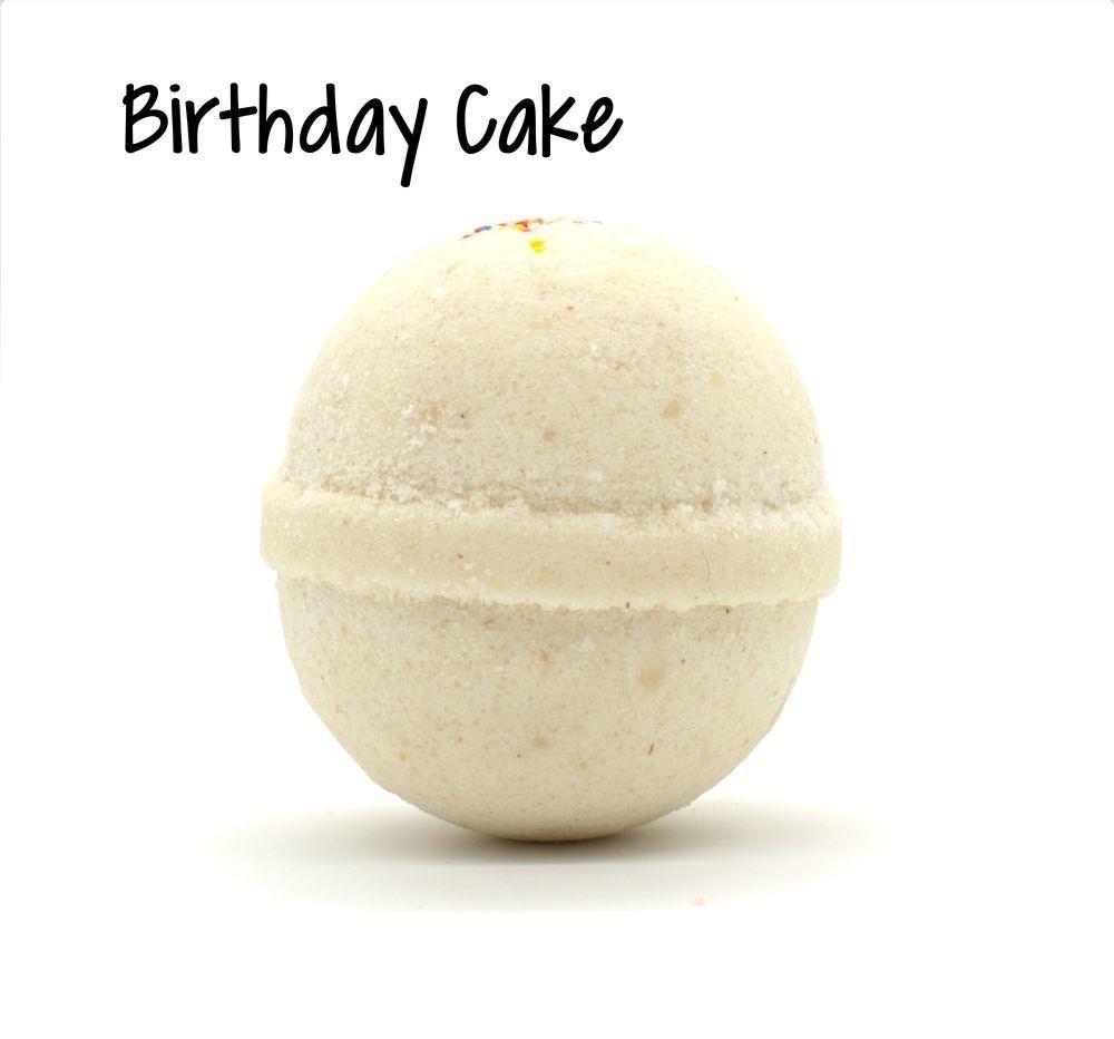 Goat Milk Bath Bomb | Birthday Cake #fallmilkbath