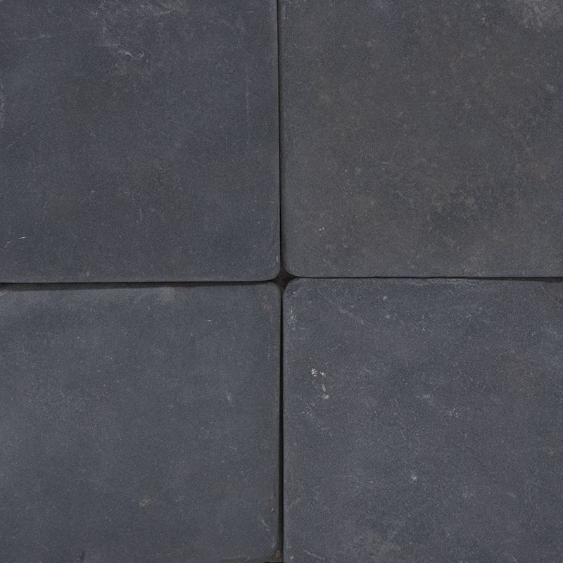 Black 4 X Tumbled Mfd Tile Traditional Wall And Floor Country Floors