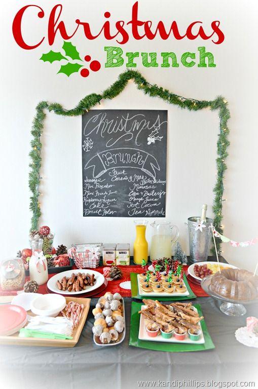 Marvelous Christmas Brunch Party Ideas Part - 2: Pinterest