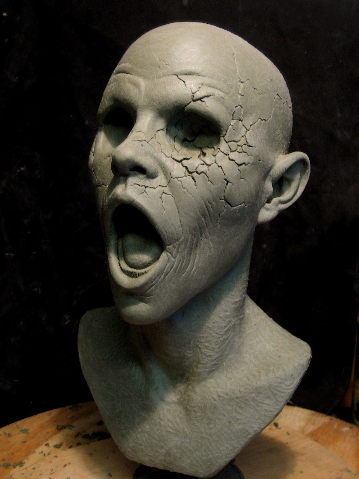 Zombie Sculpt Creatures In 2019 Sculpture Art