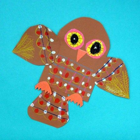 """From exhibit """"Geometric Owls--2nd Grade"""" by Lily842"""