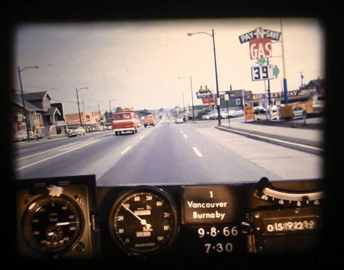30 photos from a drive through Vancouver in 1966 Vancouver