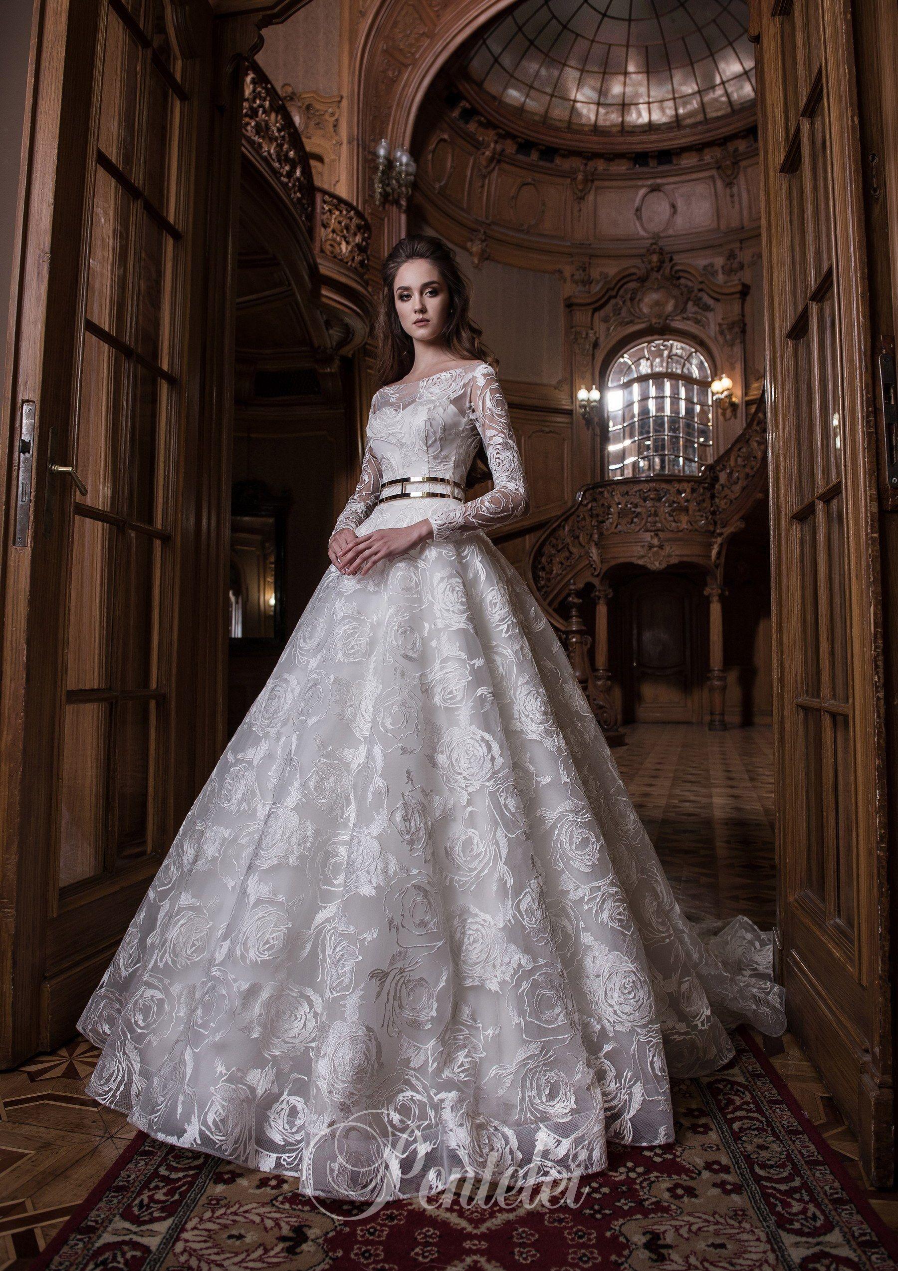 Antique cream wedding dress    Buy wholesale wedding dresses from Pentelei  Blanche fashion
