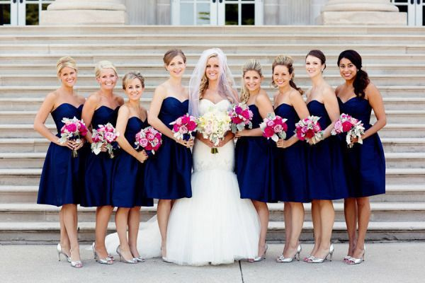 Bouquets For Navy Bridesmaid Dresses Google Search