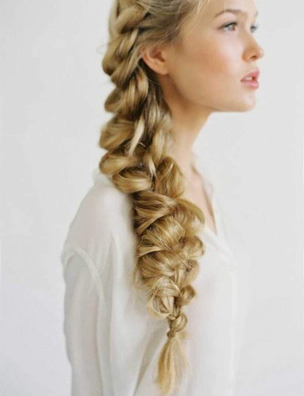 idées coiffures pour cheveux longs   Fleur delacour