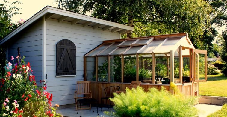 Pin By Dawn Galagarza On Garage With Greenhouse Greenhouse Dormers Lean To Greenhouse