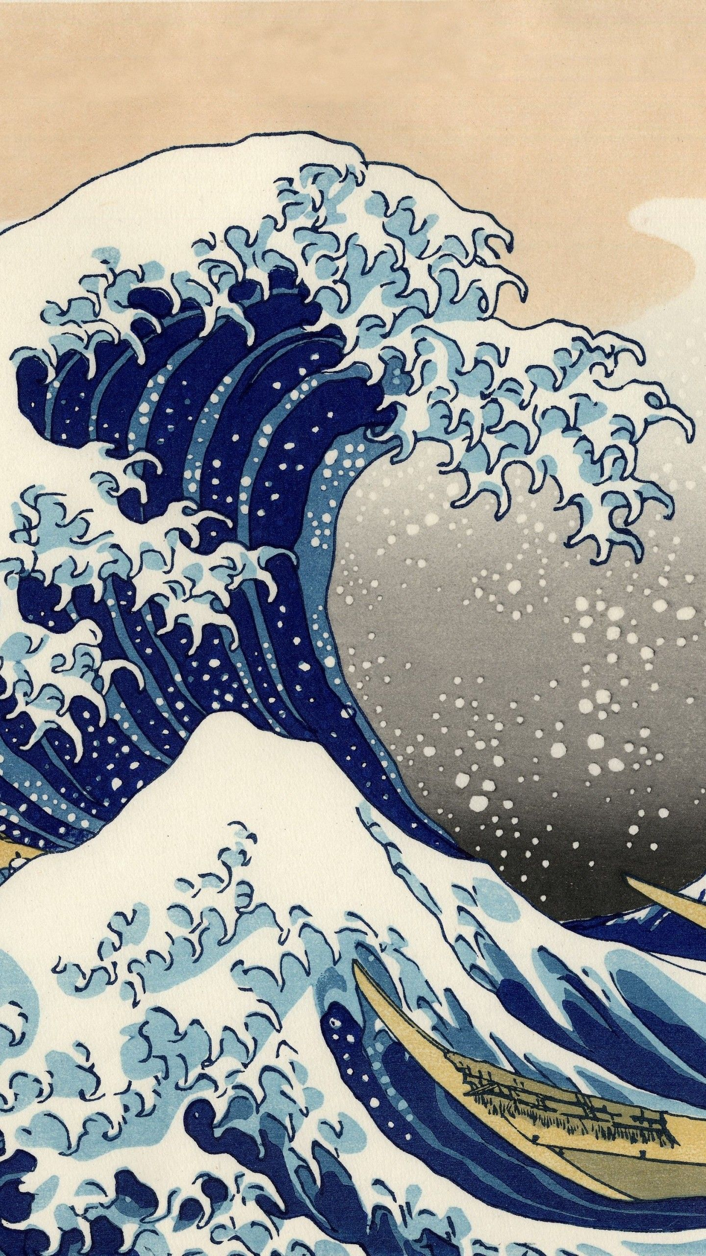 56 Japanese Wave Wallpapers On Wallpaperplay Art Wallpaper Iphone Art Wallpaper Waves Wallpaper
