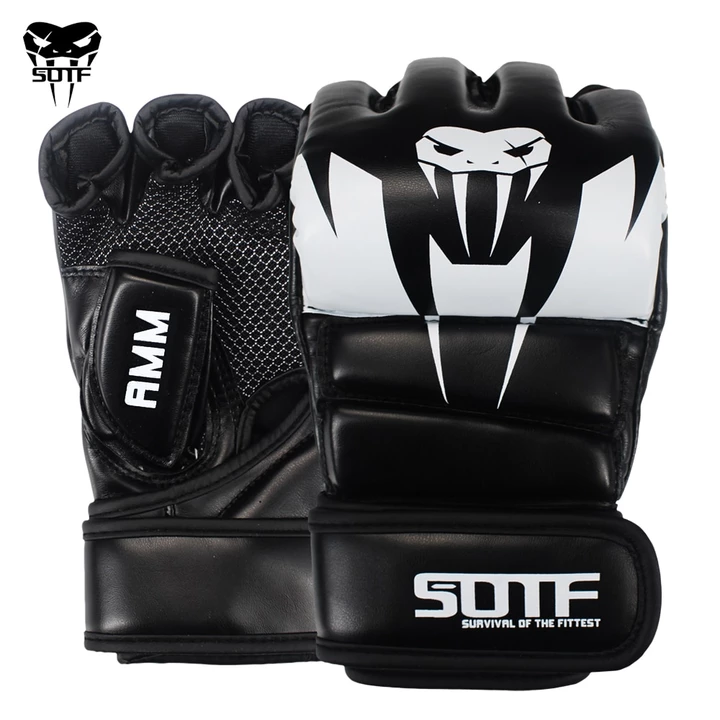 SOTF Lightweight Boxing Punching Gloves MMA Sports Fight Training ...