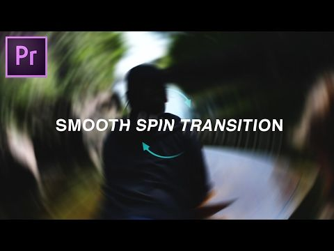 14) Adobe Premiere Pro CC: Smooth Spin Blur Rotation