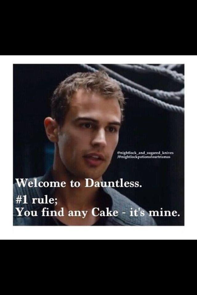 3 Four And Dauntless Cake 3 Divergent Funny Divergent Fandom
