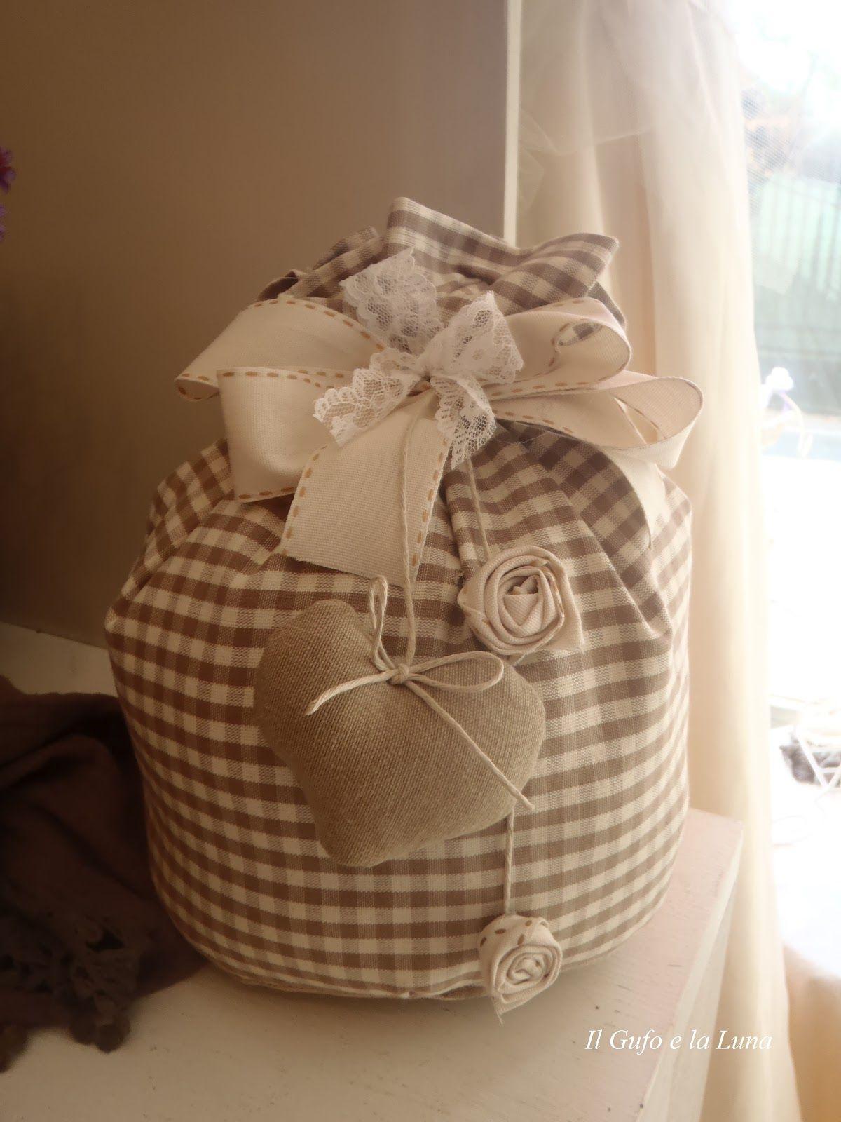 cartamodello sacchetto fermaporta stoffa cerca con