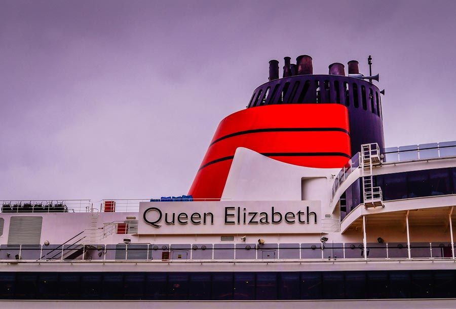 Spectacular Video Of Queen Elizabeth In Yokohama For First Time