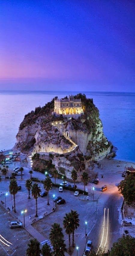 Santa Maria dell'Isola Church, Tropea, Calabria, Italy