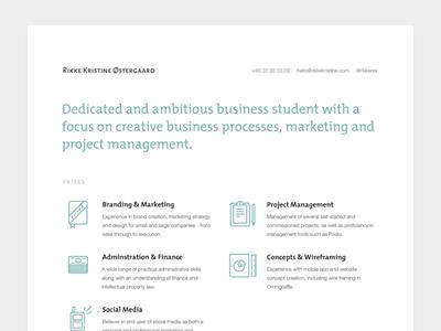 Cv Resume Design Creative Infographic Resume Creative Resume