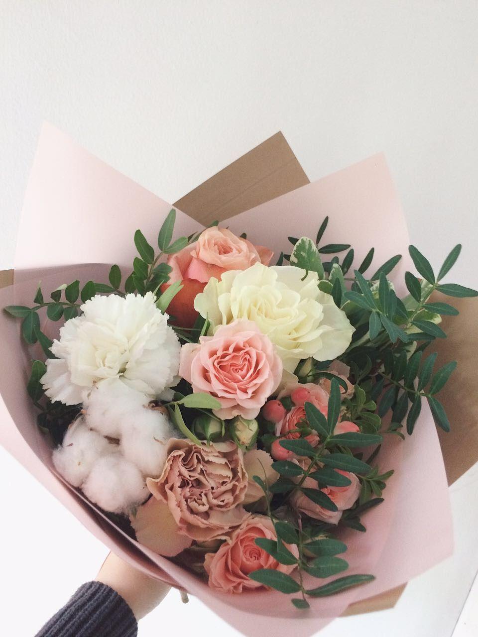 Хлопок в букете невесты, цветы оптом в краснодаре дешево от производителя