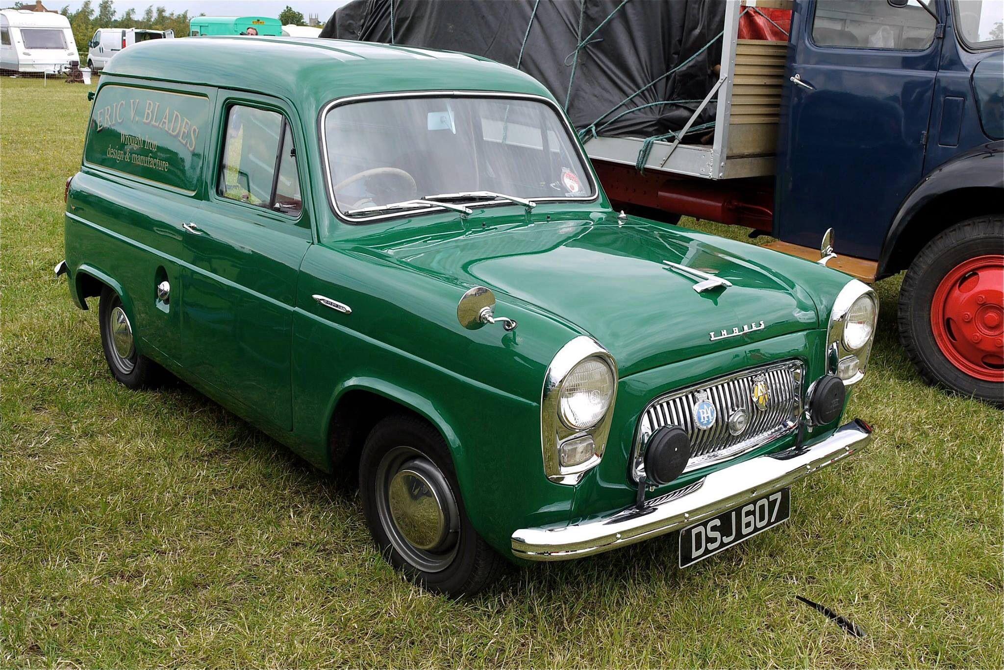 Ford Thames With Images British Cars Old Lorries Vintage Vans