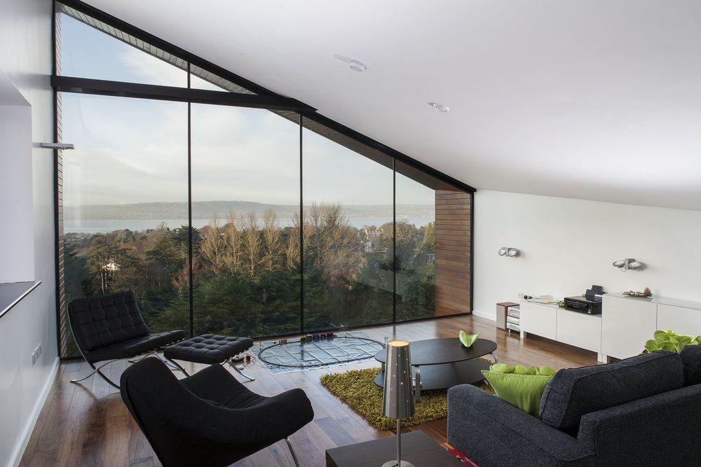 Mezzanine Living Space Overlooking Belfast Lough
