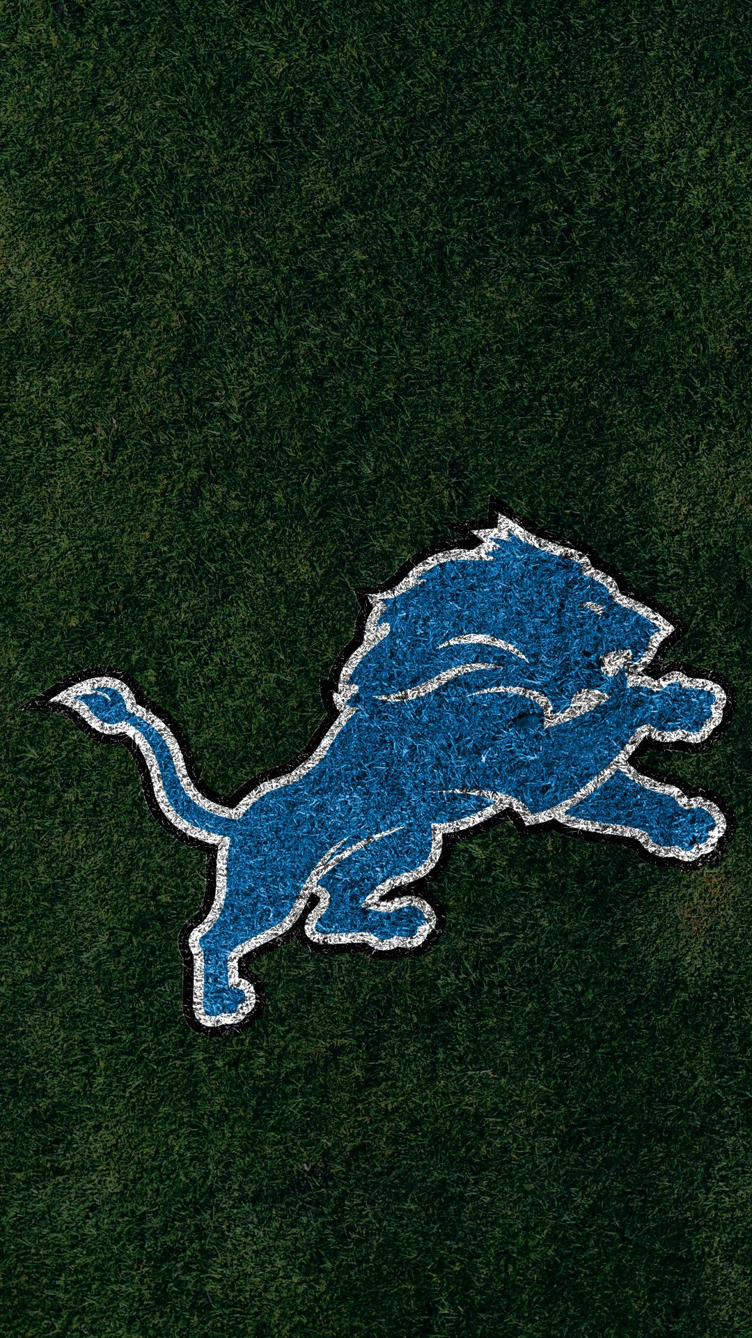 Detroit Lions Wallpaper D Hd Wallpaper Blue Wallpaper