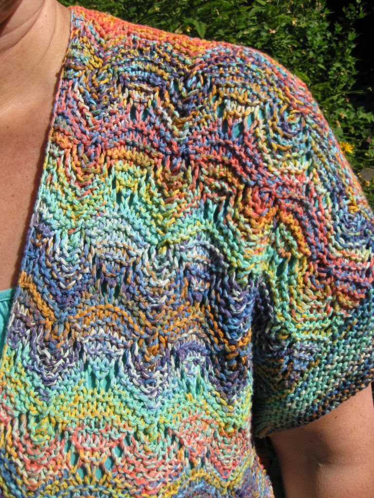 "Photo of 05/31/2019 – SWR program ""Coffee or Tea"": knitting a summer vest – Tanja S …"