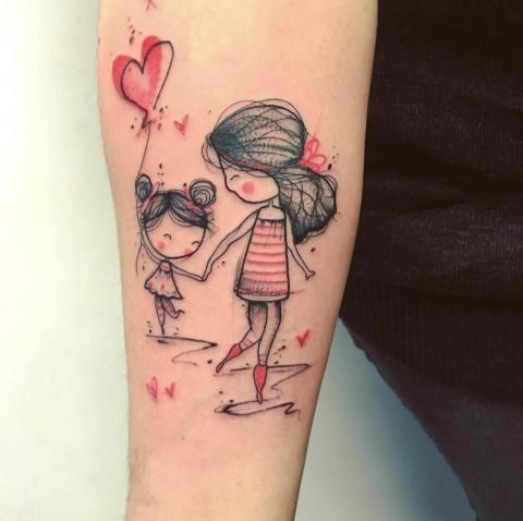 Tatuagem materna para você se inspirar
