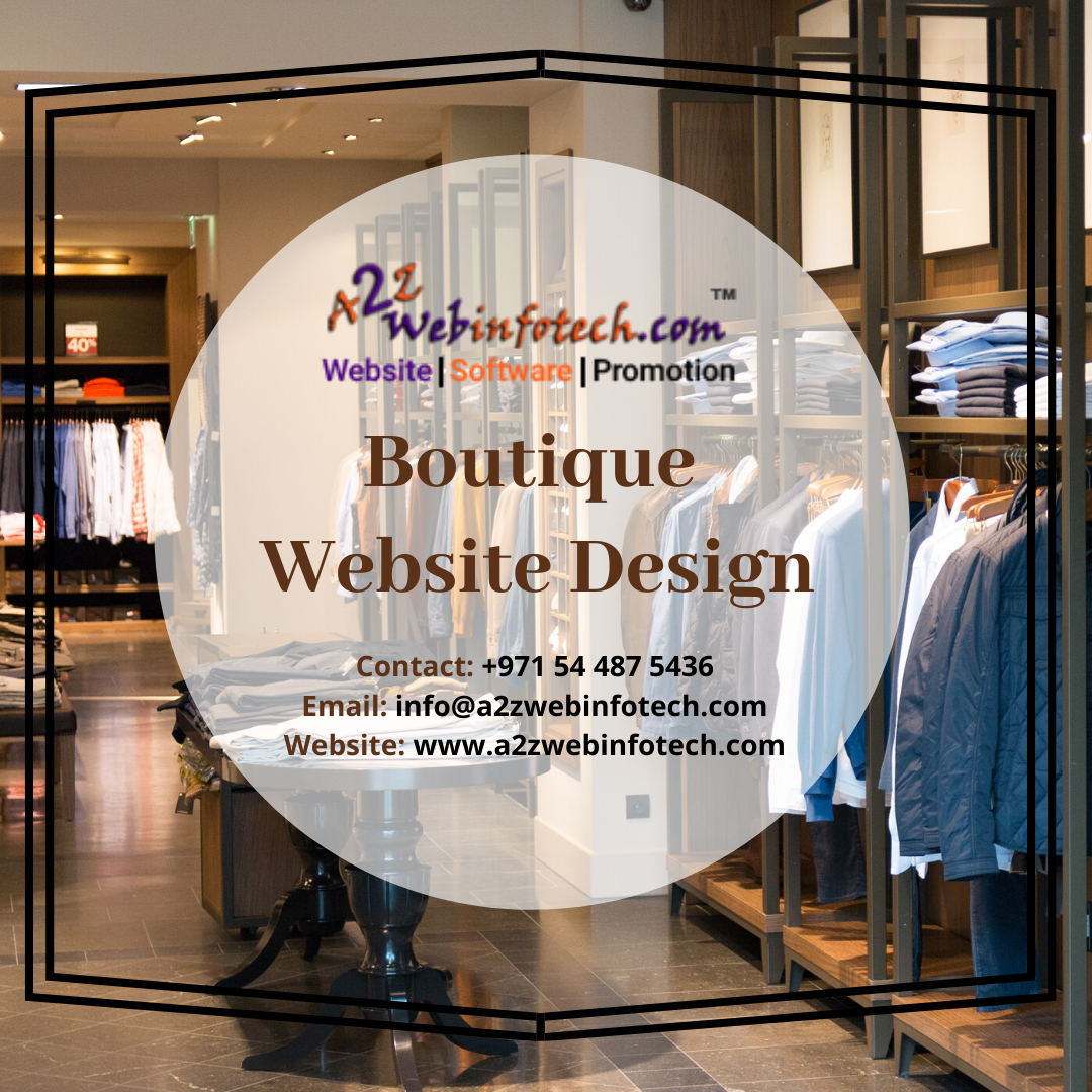 Free 3 Months Digital Marketing With A Website For One Year If You Looking For A Beautiful Boutique Web Website Design Ecommerce Web Design Web Design Company