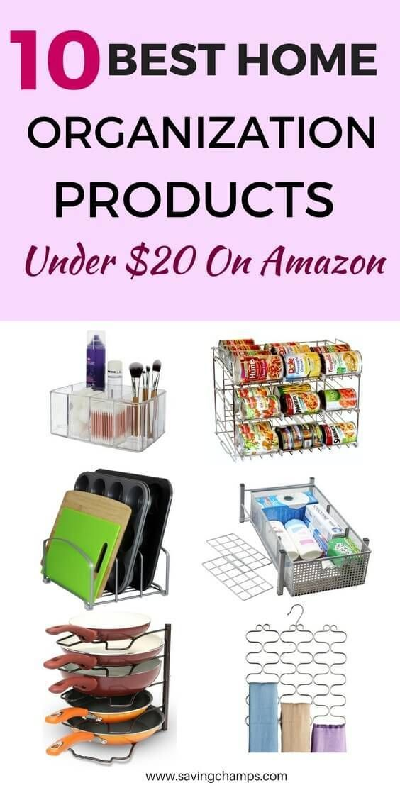 Home Storage Containers And Organizers For Decluttering Your 10 Best Organization Products Under 20 From Declutter