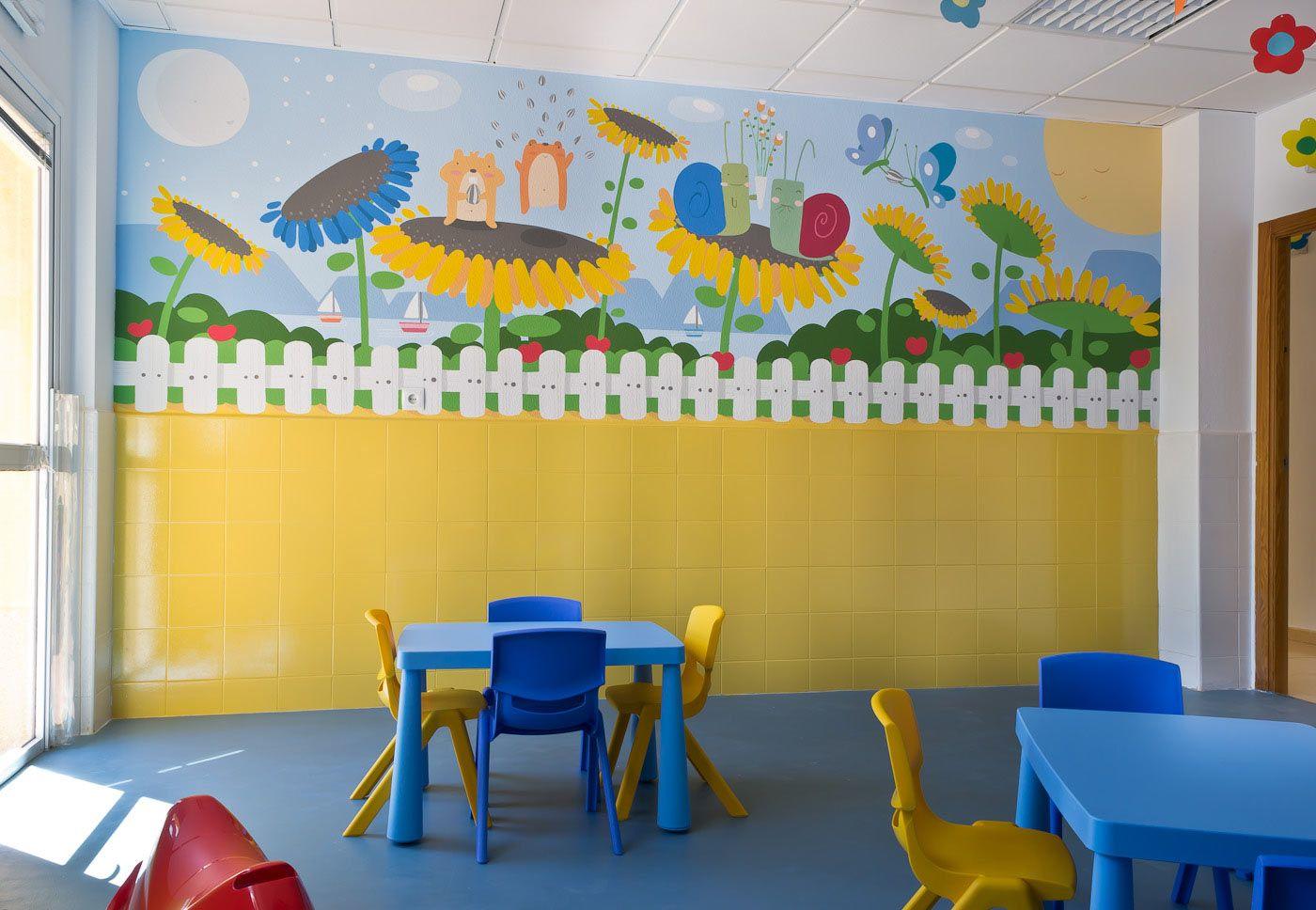 Murales para ni os colegios buscar con google murales for Murales decorativos
