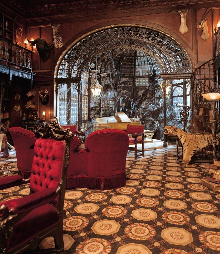 tendance steampunk dans la d co steampunk d corations et victorien. Black Bedroom Furniture Sets. Home Design Ideas