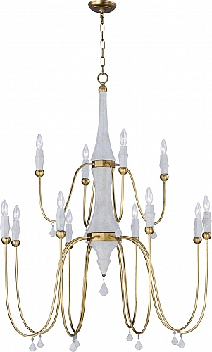 Elegant Maxim Lighting Lights   Maxim Lighting Chandelier Fixture Model 22438CSTGL  Claymore 12 Light Chandelier In