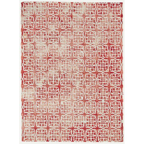 Feizy Lorrain Pomegranate Area Rug & Reviews | Wayfair