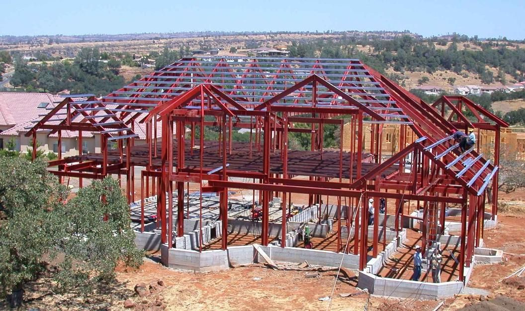 Estructuras metalicas para vivienda construya ahora en caracas maniel casas estructuras - Estructura metalica vivienda ...