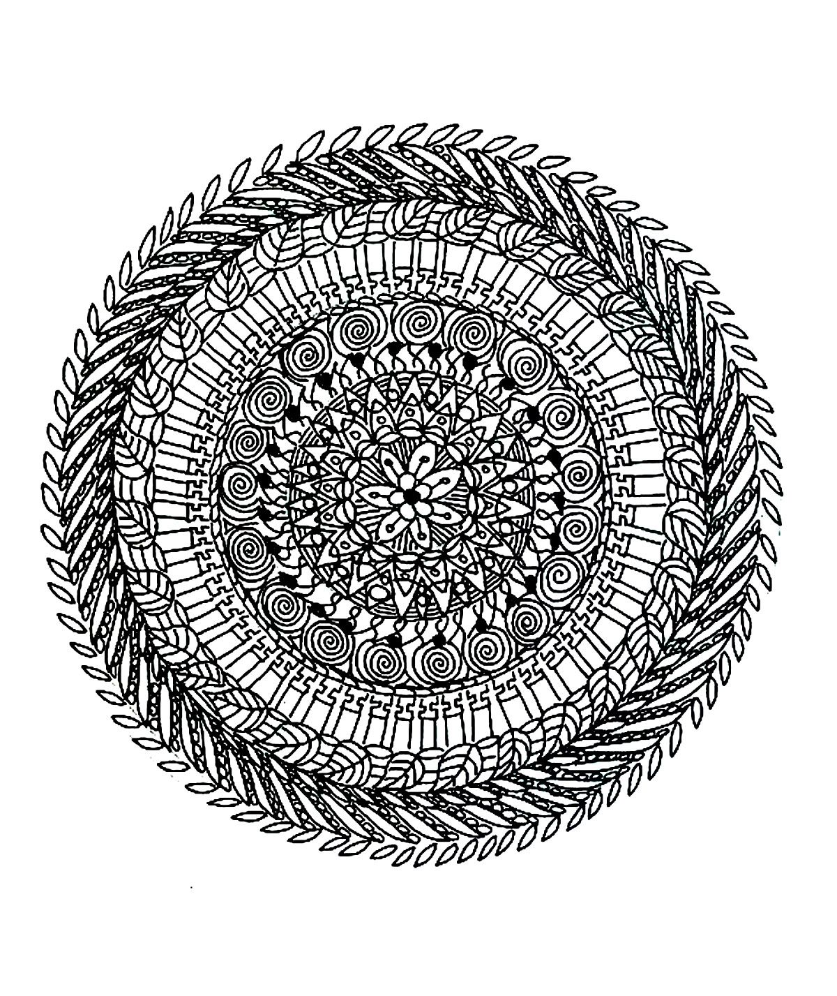 Free Mandalas To Print And Color Very Difficult Mandalas For Adults Mandala Coloring Pages Mandala Coloring Mermaid Coloring Pages