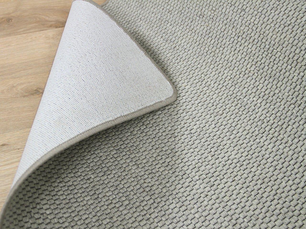 Natur Teppich Wolle Bentzon Flachgewebe Grau Pinterest