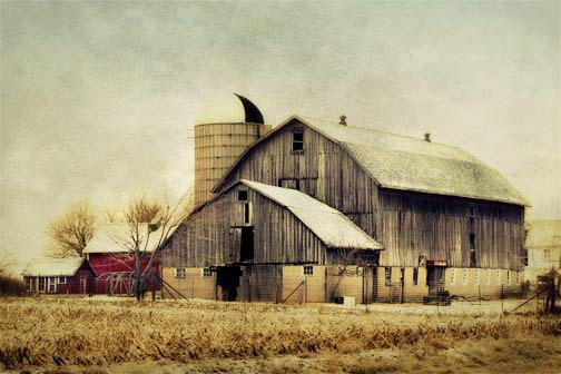 Old Country Barn Photograph
