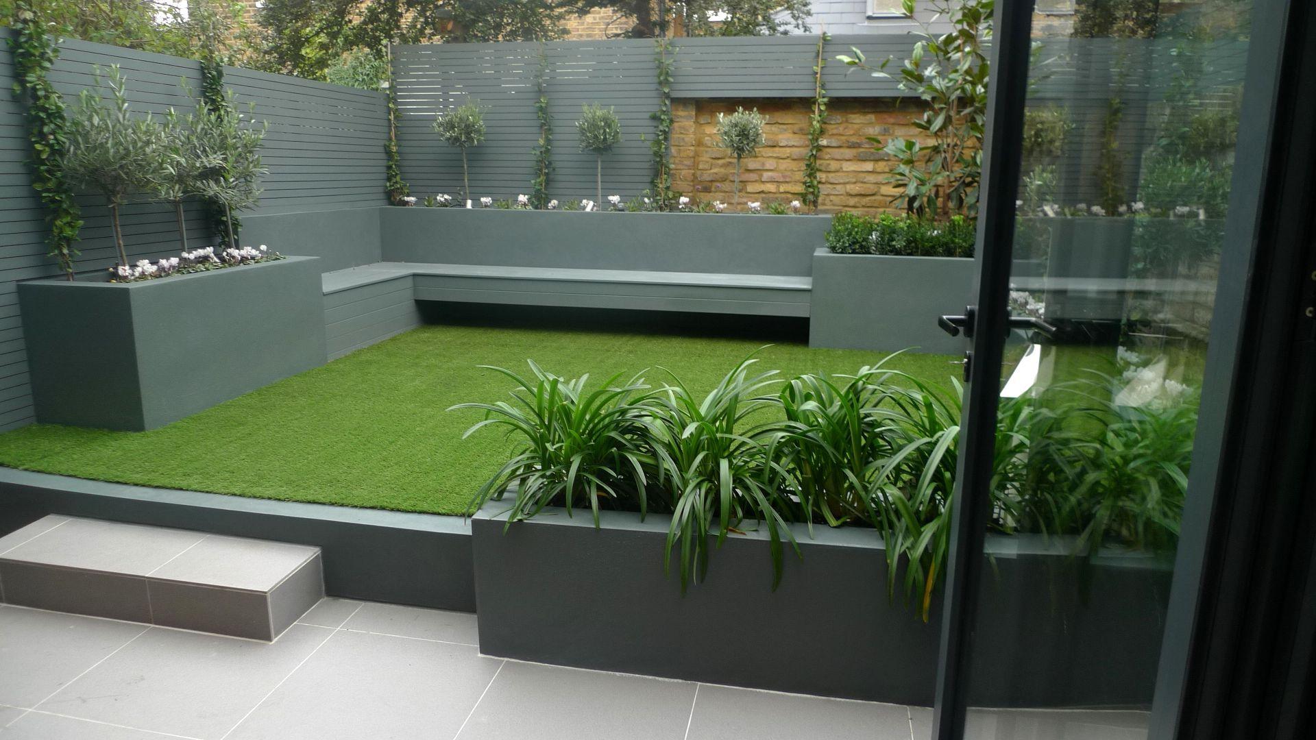 Low Maintenance Garden Ideas Designs Modern Small Low ...
