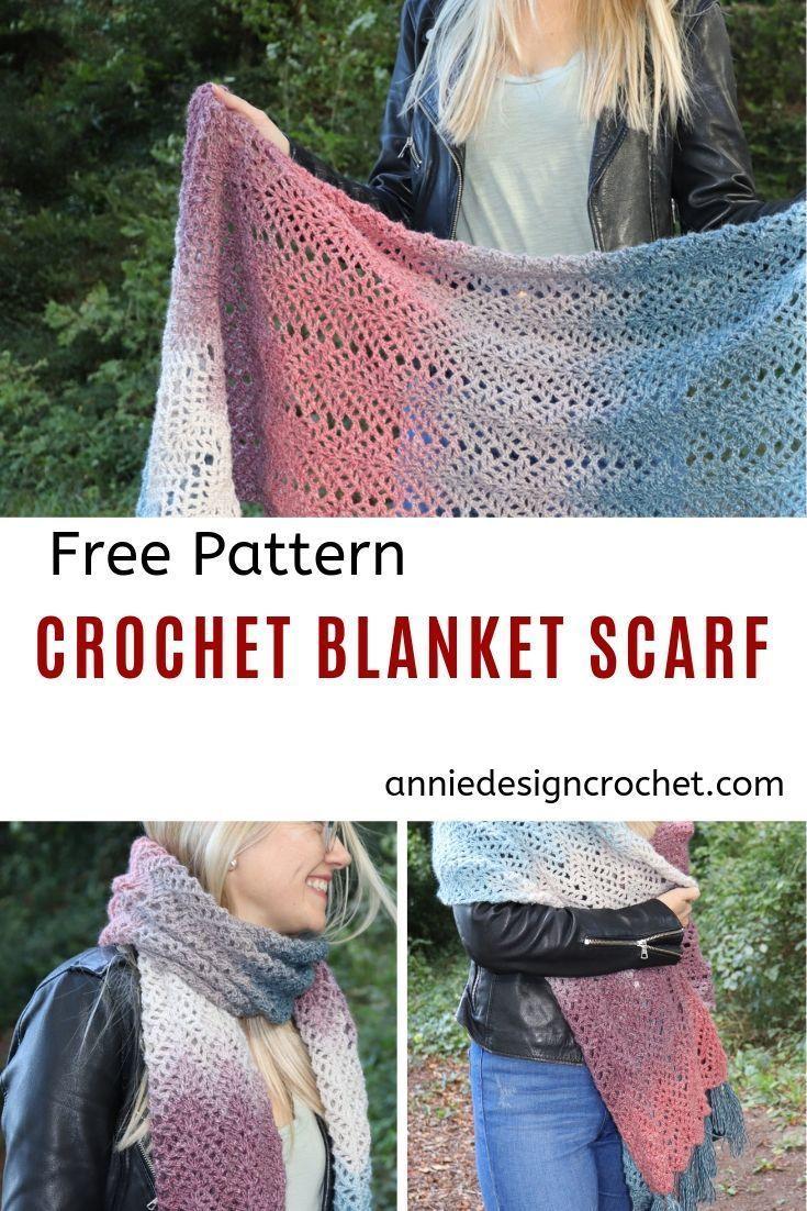 Omna Shawl - Free Crochet Pattern