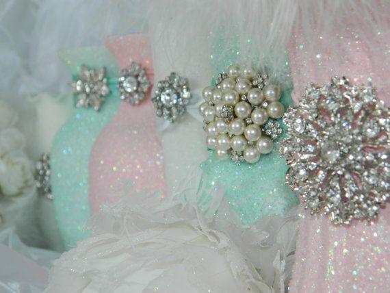 Wedding Centerpiece Wedding Decorations Pink Shabby Chic