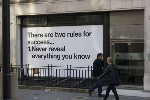 Two Rules / via jjjound