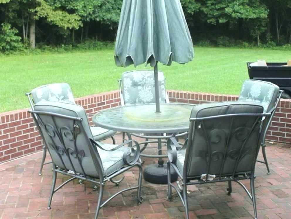 Enchanting Round Patio Furniture Covers With Umbrella Hole Snapshots